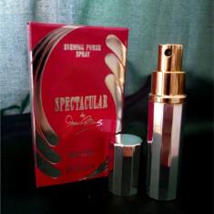 Parfum Spectacular Joan Collins vintage-EDT DAMA- FRANCE -7,5 ml- REANCARCABIL