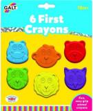Set 6 creioane colorate Galt, Animalute