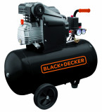 Compresor Black+Decker 50L - BD 205/50, Black + Decker