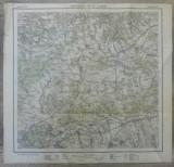 Porumbacul de Jos si Avrig// harta Serviciul Geografic Armatei 1916