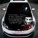 """Sticker Imprimat Color pentru Capota """"Hood Art"""" cod: KM-HOOD-103"""