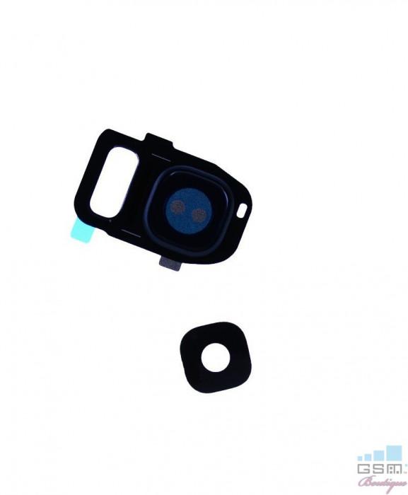 Geam Camera Samsung Galaxy S7 edge G935 Albastru