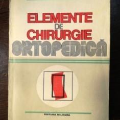 ELEMENTE DE CHIRURGIE ORTOPEDICA ANDREI VOINEA/CORNELIU ZAHARIA