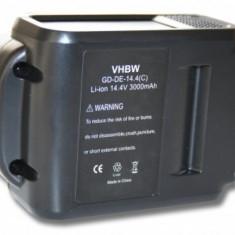 Acumulator pentru dewalt xr-serien 14.4v, li-ion, 3000mah, DCB140-XJ, DCB141