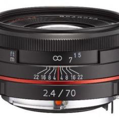 Obiectiv Foto Pentax HD DA 70mm F/2.4 Limited Black