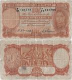 1942 , 10 shillings ( P-25b ) - Australia