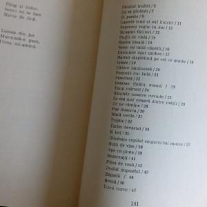 CONSTANTA BUZEA - APE CU PLUTE (POEZII DE DRAGOSTE 1975/coperta TUDOR JEBELEANU)