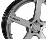 Sticker jante - Subaru (set 4 buc.), 4World