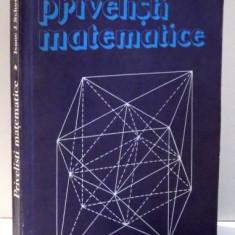PRIVELISTI MATEMATICE de ISAAC J. SCHOENBERG , 1989