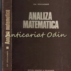 Analiza Matematica - Ion Colojoara