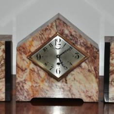 Ceas de semineu Ucra 5 piese
