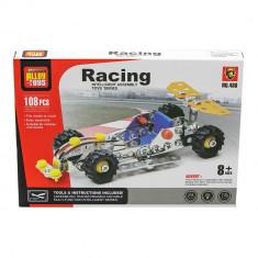 Joc constructii tip lego tehnic masina de curse 108 piese