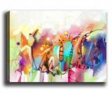 Cumpara ieftin Tablou Abstract Art 40x60 cm - Tablo Center, Multicolor