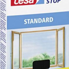 Plasa de tantari Standard pentru fereastra, Tesa, 530503, 1 x 1 m antracit