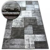 Covor Shadow 8386 negru si vizon, 180x270 cm, Polipropilena