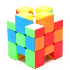 Cub Rubik 3x3x3 Asimetric MoYu Stickerless , 72CUB foto