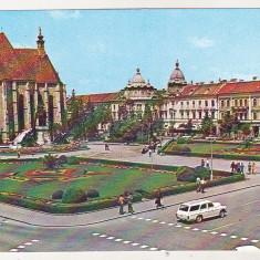 Bnk cp Cluj Napoca - Piata Libertatii - necirculata, Printata