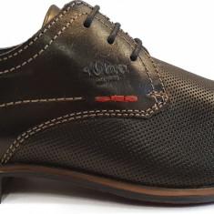 Pantofi barbati din piele s.Oliver 5-5-13211-20 001 black