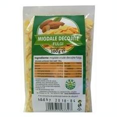 Fulgi Migdale Crude Decojite Herbavit 100gr Cod: herb00964