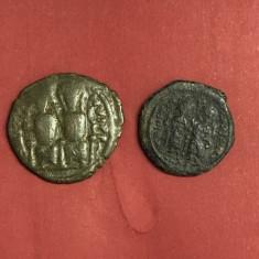 Justin II și Sophia (565-578) - Follis + 1/2 follis