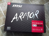 Placa video MSI Radeon RX 580 Armor OC 8GB GDDR5 256-bit -sigilata, 8 GB, AMD