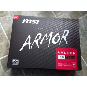 Placa video MSI Radeon RX 580 Armor OC 8GB GDDR5 256-bit -sigilata