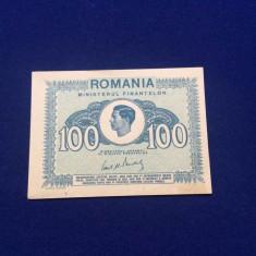 BANCNOTE ROMANIA - 100 LEI 1945 - REGELE MIHAI - UNC