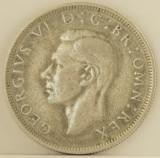 Half crown, 1945 Marea Britanie - de argint