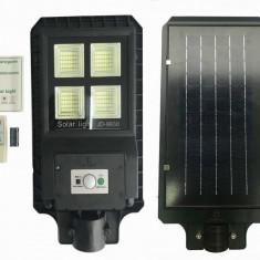 Proiector LED 30w cu panou solar senzor miscare lumina telecomanda 180 led