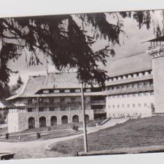 CARTE POSTALĂ POIANA BRAŞOV ,VARIANTA MARE-RPR, Circulata, Fotografie