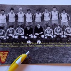 Foto (anul 1973) fotbal-echipa VORWARTS FRANKFURT/ODER (Germania)