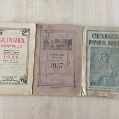 Lot 3 almanahuri vechi - 1926, 1937, 1948