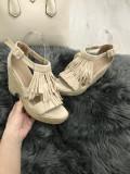 Sandale dama bej cu platforma marime  37,  40, 41+CADOU