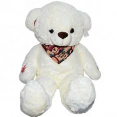 Ursulet de plus cu esarfa 80 cm