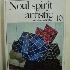 NOUL SPIRIT ARTISTIC- NICOLAS SCHOFFER- BUC.1973