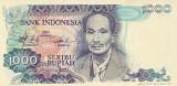 Bancnota Indonezia 1.000 Rupii 1980 - P119 UNC
