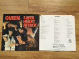 QUEEN - SHEER HEART ATTACK (1974,TRIDENT,UK) vinil vinyl