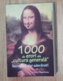 1000 de erori din cultura generala-Christa Poppelmann