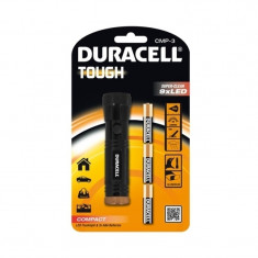 Lanterna LED Tough Duracell DURACELLTOUGHCMP-3, 44 lm