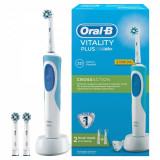 Periuta electrica Oral B Vitality Plus Cross Action, 7600 oscilatii/min