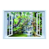 Cumpara ieftin Sticker decorativ efect 3D, 150 x 100 cm cascada thailanda