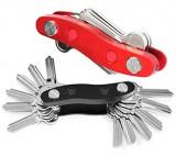 Breloc tip organizator pentru 12 chei - Clever Key Mania