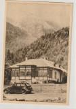 Muntii Bucegi-Cabana Gura Diham (Valea Cerbului),circulata Ploiesti-Buc. ,1956, Fotografie