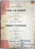 ANALELE INSTITUTULUI DE PATOLOGIE SI DE BACTERIOLOGIE DIN BUCURESTI publicat de VICTOR BABES, VOL. V, ANUL IV 1892/9 - BUCURESTI, 1895
