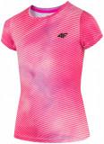 Tricou pentru fete (122-164) JTSD212 - multicolor, 4F Sportswear