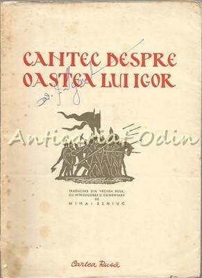 Cantec Despre Oastea Lui Igor, Fiul Lui Sveatoslav - Tiraj: 6100 Exemplare foto