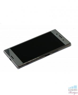 Ecran LCD Display Sony Xperia XZ Premium cu Rama, G8141 Argintiu foto