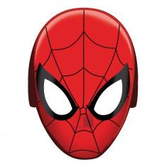 Masti Spiderman pentru copii - 20x15cm, Amscan 360093-55, Set 8 buc