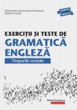 Exercitii si teste de gramatica engleza | Georgiana Galateanu-Farnoaga, Debora Parks, Paralela 45
