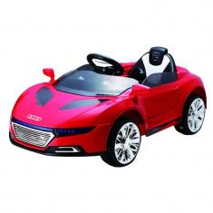 Masina cu telecomanda Audi, 2 x AA, greutate suportata 25 kg, 3.5 km/h, 3 ani+